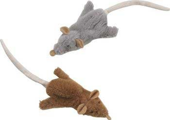 Skinneeez Mouse Cat Toy [Set of 3]