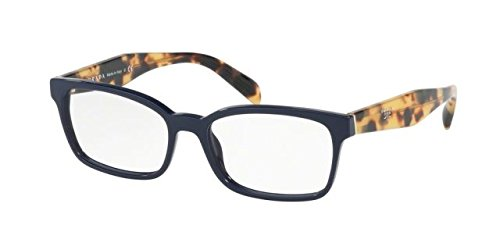 Prada Women's PR 18TV Eyeglasses Blue 51mm by Prada
