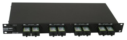 Fischer Amps ALC 89 Rackmount Battery Charger for 8 9V Rechargeable Batteries