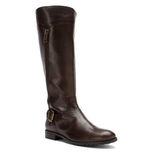 Corso Como Women's Grey Florence Rivet Knee-High Boot SIZE 7 M