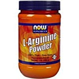 NOW Foods L-Arginine Powder, 1-Pound Sold By HERO24HOUR Thank You