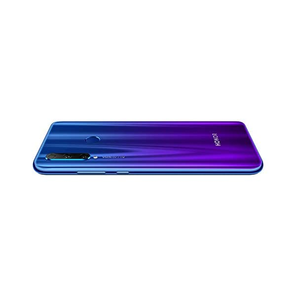 Honor 20i (Phantom Blue, 128GB Storage, Triple AI Camera)