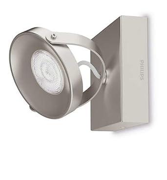Philips myLiving LED Spot Spur 1-flammig Metall 4.5 W Edelstahl ...