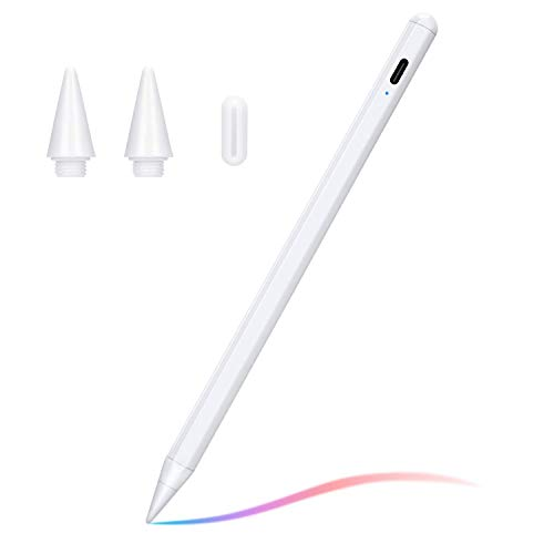 "Stylus Pen Compatible with (2018-2020) Apple iPad, iPad Pencil with No Lag, High Precision, Tilt, Palm Rejection, for iPad 6th, iPad Mini 5th, iPad Air 3rd Gen, iPad Pro (11/12.9"")"