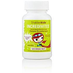- Shakleekids Incredivites Multivitamin 120 ct
