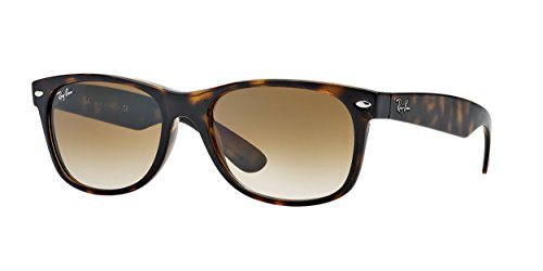 Ray-Ban New Wayfarer Sunglasses,52mm,Light Havana/Brown ()