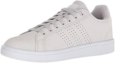 adidas Women's CF Advantage CL W Sneaker, Black/Black/Utility Black, 5 Medium US
