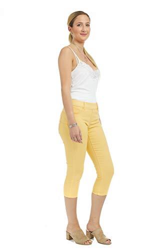 Suko Jeans Women's Denim Capris - Pull On – Stretch 16