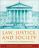 Law, Justice, and Society Publisher: Oxford University Press, USA