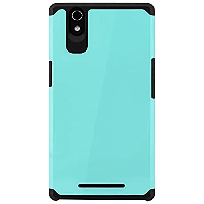 ZTE ZMax Case, Celljoy [Liquid Armor] Z970 2014 Release Model Slim Fit Dual Layer Protective Hybrid **Shockproof** - Thin Hard Cover from CellJoy