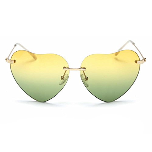 LOMOL 2017 New Womens Personality Cute heart-shaped UV Protect - Hottest 2017 Designer Sunglasses
