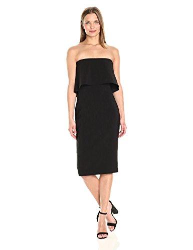 LIKELY Women's Driggs Strapless Dress, Black, 6 ()