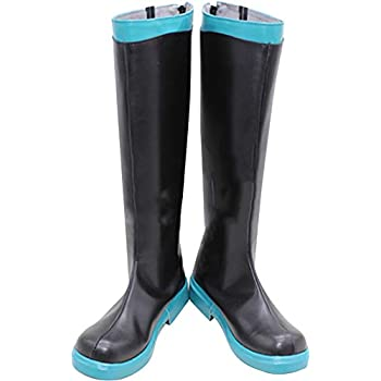 Amazon.com: Whirl Cosplay Botas Zapatos para Vocaloid ...