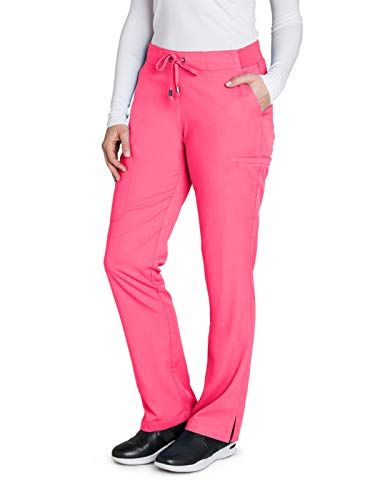 d1014482aeaa9 Grey's Anatomy 4277 Straight Leg Pant Pink Pop S