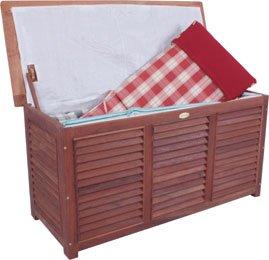 Sitztruhe Garten auflagenbox kissenbox gartentruhe kissentruhe mit