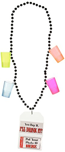 21st Birthday Party Beads Party Accessory (1 count) (1/Card) -