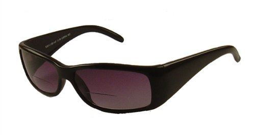 0b8fcba3d0af Bifocal Sun-readers   Prescription sunglasses   Tinted reading glasses  black - NEW!  Amazon.co.uk  Clothing