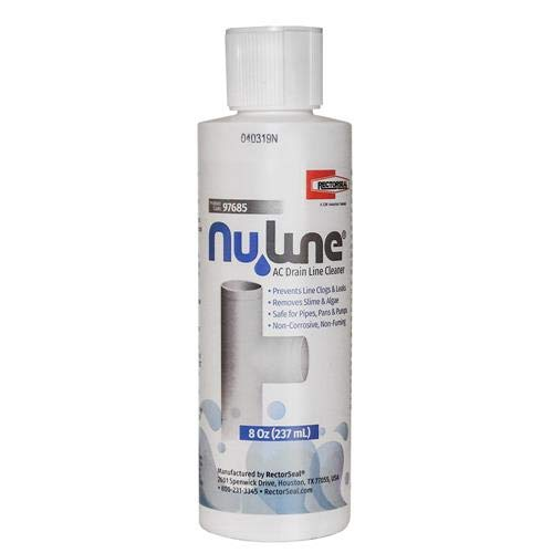 (2)-Pack, Nu-Line Drain Cleaner, 8 Ounce Bottle
