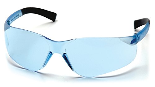 Pyramex Mini Ztek Safety Eyewear, Infinity Blue Lens With Infinity Blue Frame