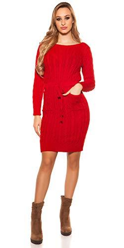 Koucla Koucla Rojo Mujer Vestido Koucla Rojo Vestido Para Para Para Mujer Vestido CHSnq