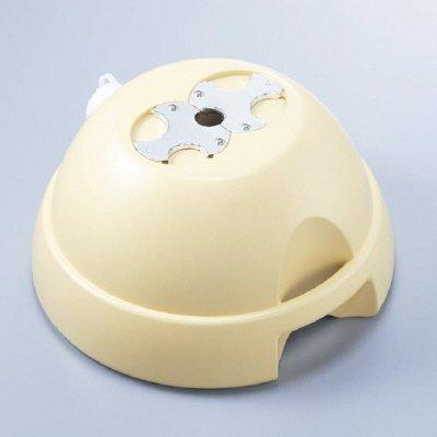ユニット 標識用重し、自立用ウエイト 3WAYベース φ38.1mm φ50.8mm φ60.5mm 鋼管兼用 834-08  B01E58V8DU