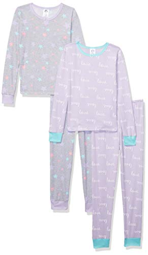 Gerber Baby Boys Organic 2 Pack Cotton Footed Unionsuit, 3T, - Girls Pjs