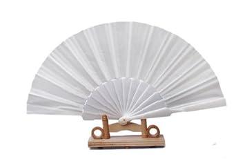 Kleidung & Accessoires Fächer Handfächer Fächer Taschenfächer Aus Stoff Und Kunststoffstreben