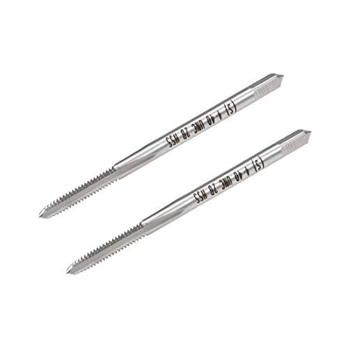 Machine Tap 4-40 UNC Thread Pitch 2A Class 3 Flutes High Speed Steel 2 Pieces