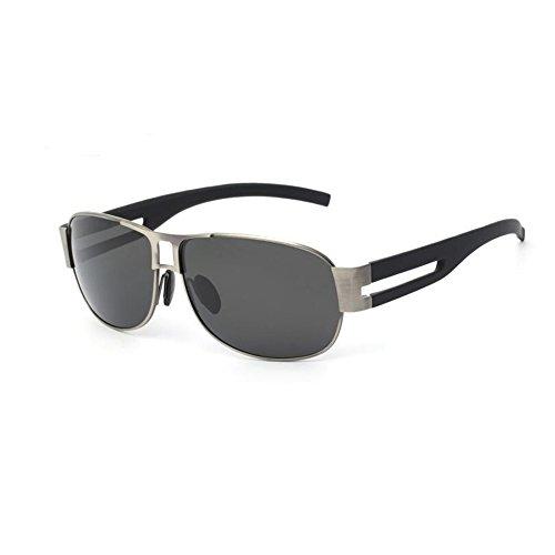 Reflejante Polarizados Gafas sol Gafas Gafas Anti Gafas YQQ 1 UV De 3 de Personalidad Conducción Deporte HD Anti Color Hombre Vidrios De Cuadradas SF6paq