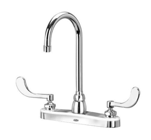 Zurn Z871B4 Double Handle Kitchen Faucet with Metal Lever Handles from the Aquaspec Series, - Sink Kitchen Aquaspec Faucet