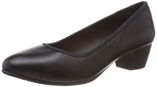 Escarpins 022 Noir Softline 21 black Nappa Femme 22360 vqaPawT