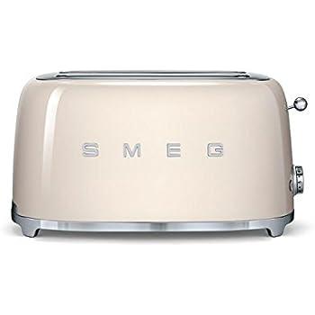 smeg tsf02crus 50 39 s retro style aesthetic 4 slice toaster cream kitchen dining. Black Bedroom Furniture Sets. Home Design Ideas