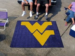 West Virginia Mountaineers Tailgater Mat - 6