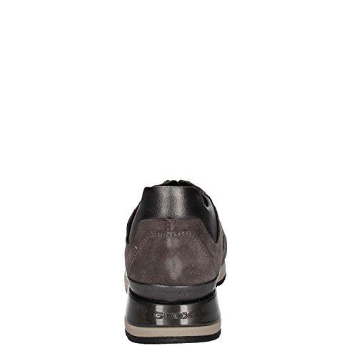 Geox Sneaker D Damen B Shahira Grau wFZwTvqz