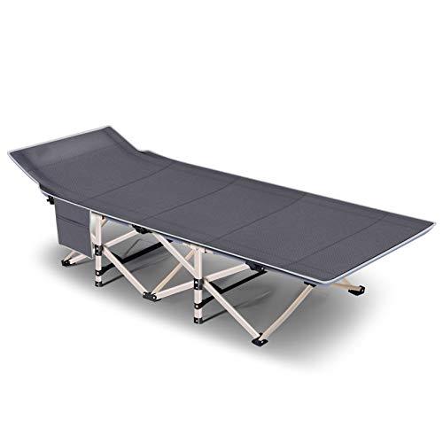 Fold bed Brandina da Campeggio Pieghevole con Materasso capacità di Carico Fino a 150 kg Viaggi all'Aperto Letto per Ospiti Telaio Robusto Super Resistente – 190x71x35cm,Gray Prezzi offerte