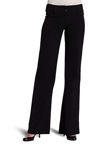 A. Byer Juniors Tropical Cambridge Trouser Pant, Black, 7 ()