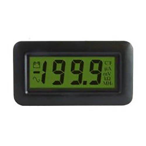 Lascar DPM 750S-BL 3 1/2-Digit LCD Meter w/200 mV DC, LED backlit, Bandgap Ref.