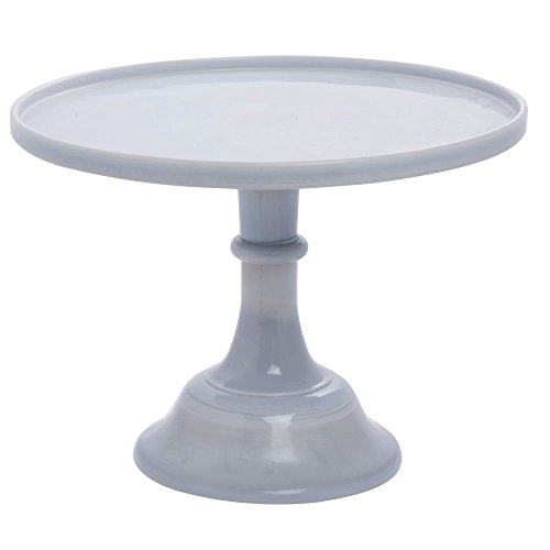 Glass Pressed Marble (Mosser Glass Cake Stand - 12