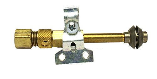 Anderson /& Forrester RS826-008 Robertshaw Vertical Pilot Burner LP 1//4-32 External UNEF 3//8-24 Internal UNF Threads 3.25 Long Anderson /& Forrester TM 3.25 Long