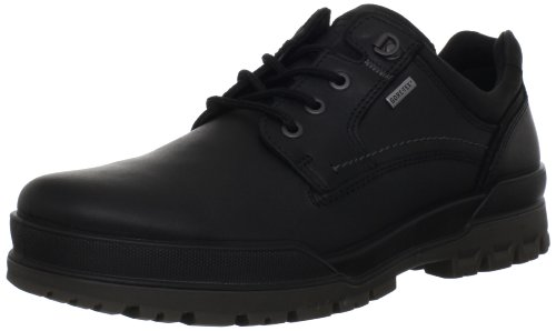 ECCO Men's Track 6 GTX Plain Toe Tie Oxford,Black,41 EU/7-7.5 M US ()