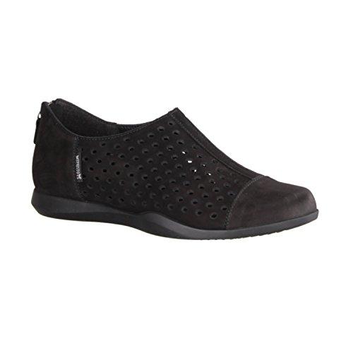 MEPHISTO BUCKSOFT Slip C2319 Shoe Black Women's On Black CLEMENCE RFnwqrxR
