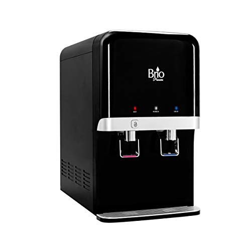 (Bottleless Countertop Water Dispenser, (Dispenser Only) or choose from (9 Different Filtration System Options to Choose From) Black)