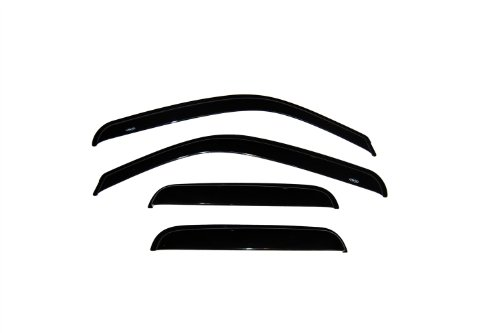 Auto Ventshade 94044 Original Ventvisor Side Window Deflector Dark Smoke, 4-Piece Set for 1999-2006 Silverado & Sierra 1500, 2001-2004 Silverado & Sierra 2500, 2001-2006 Silverado & Sierra 2500HD &3500 | Also fits 2007 HD Classic Models | Fits Trucks with Extended Cab