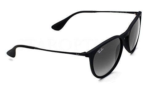 Ray Ban RB4171 Erika 6075/6G Velvet Black Sunglasses - Velvet Erika Ray Bans