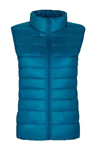 Outdoor Hooded Pocket Lightweight Jacket Women's 4 Vest Coat security Packable with Puffer q046Et0n