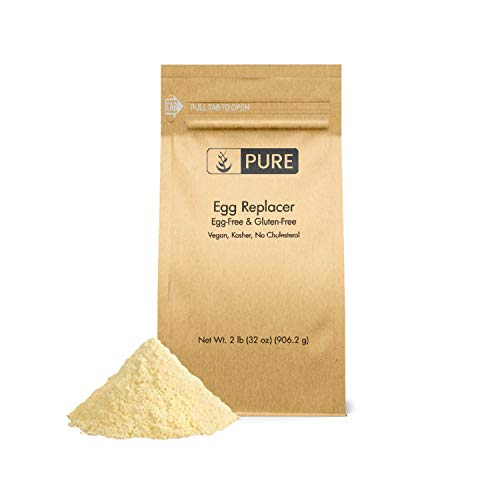 (Egg Replacer (2 lb.) by Pure Organic Ingredients, Vegan, Simple Ingredients, Cruelty and Cholesterol-Free Solution for Baked Goods and)