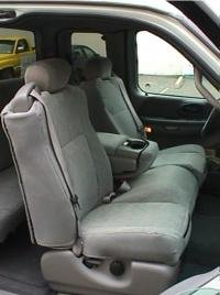 Durafit Seat Covers, F74-V7-Ford F150 Regular and Super Cab Front Low Back...
