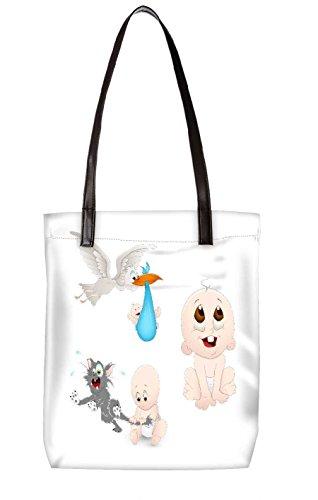Snoogg Strandtasche, mehrfarbig (mehrfarbig) - LTR-BL-4239-ToteBag