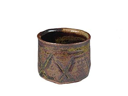 Japanese pottery sake cup (Karatsuo-Yaki): Amazon ca: Home & Kitchen