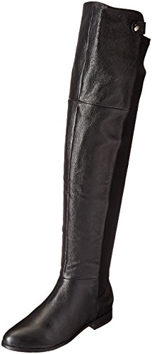 Chinese Laundry Women's Robin Winter Boot, Black Leather,  6.5 M US